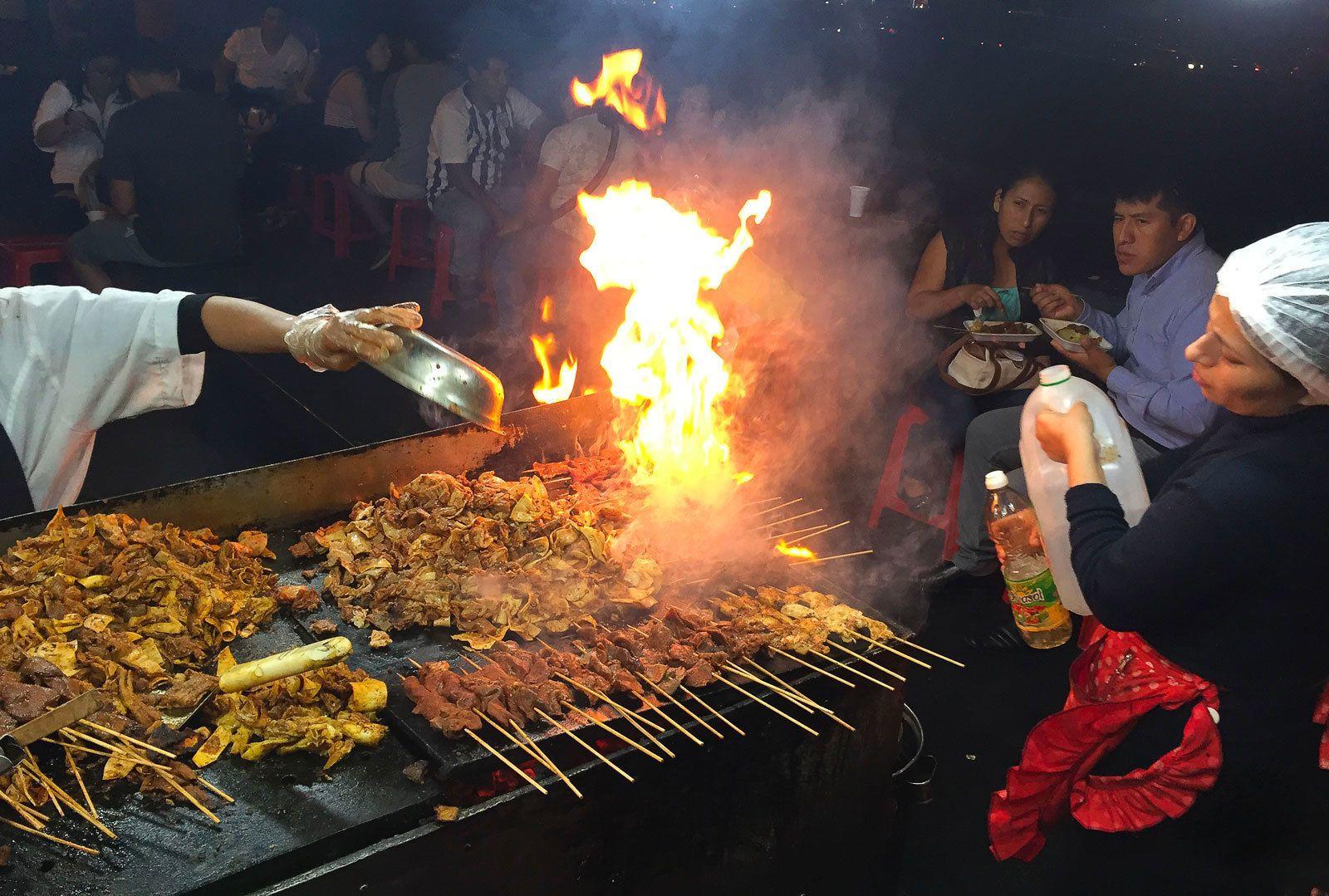Lima Historic Center : Street Food Experience