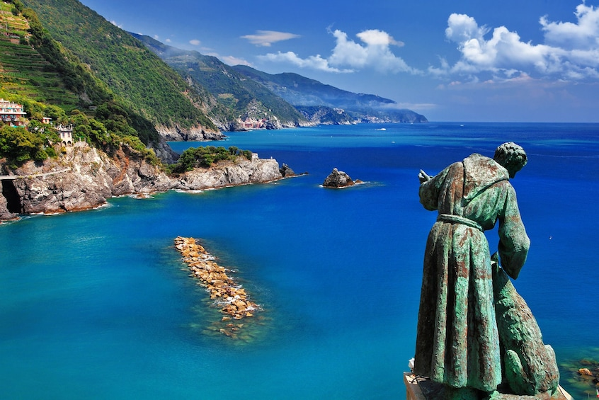 Show item 2 of 8. Cinque Terre Walking Tour with Food and Wine Tastings