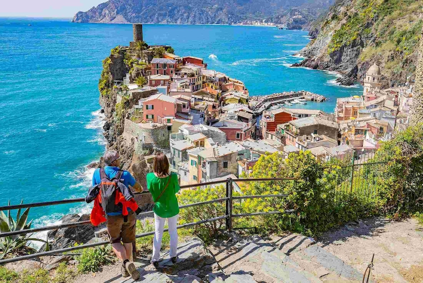 Show item 8 of 8. Cinque Terre Walking Tour with Food and Wine Tastings