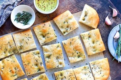 Herbed flatbread in Genoa
