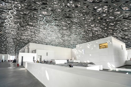 Under the dome of the Louvre Abu Dhabi