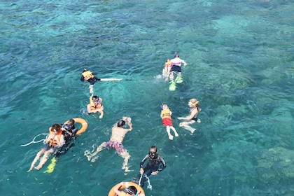 Group snorkeling activity at Koh Chuak