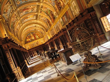 Interior of the Royal Site of San Lorenzo de El Escorial