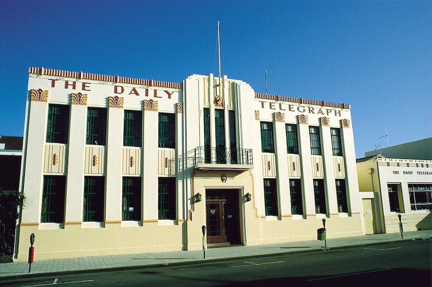 Show item 10 of 10. Daily Telegraph building in Napier