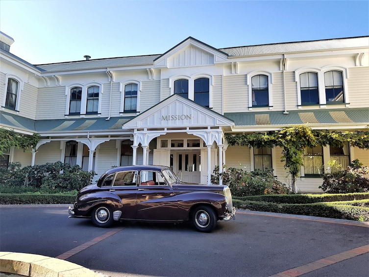 Show item 8 of 8. vintage car parked in front of a building in Napier