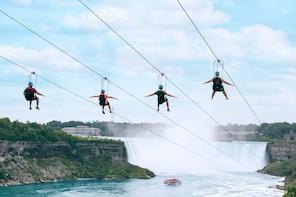 Niagara Falls Zipline To The Falls