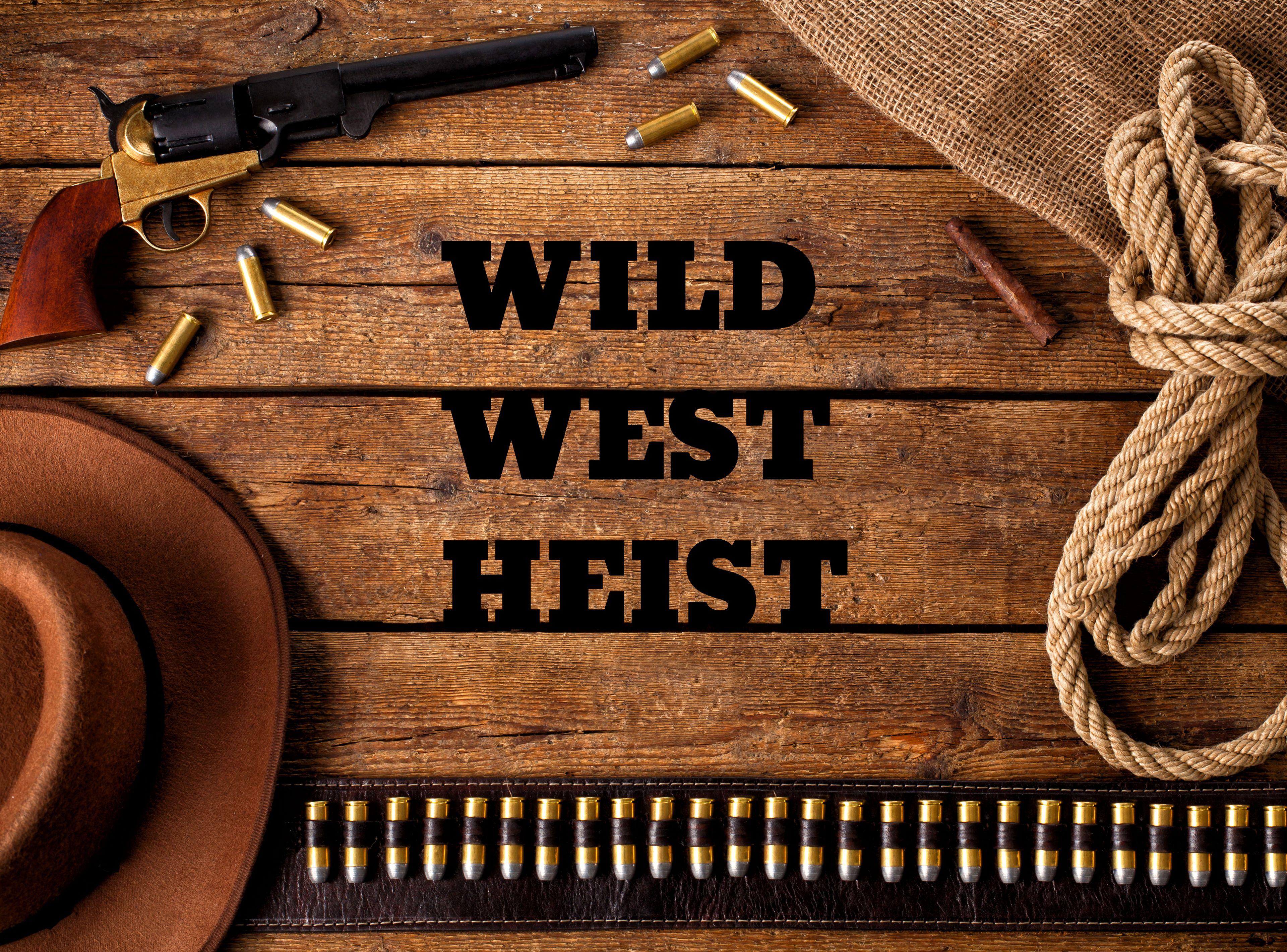 Wild West Bank Heist Interactive Escape Room in NJ