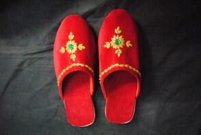 Newari Wedding Shoe Workshop