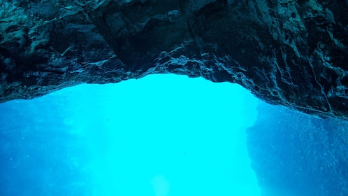 Views of the Blue Cave in Split