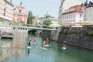 Paddle-boarding Ljubljana - Urban City Tour