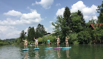 Paddle-boarding Ljubljana - Into The Wild Sup Tour
