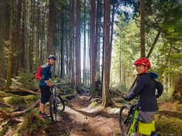 Intro to Mountain Biking Tour and Apres in Squamish BC