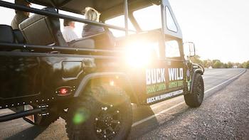 Excursión en autobús a South Rim en el Gran Cañón con aventura en Hummer