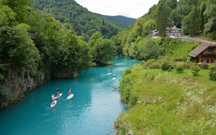 Sup & Hike - Active day tour to Soca Valley from Ljubljana