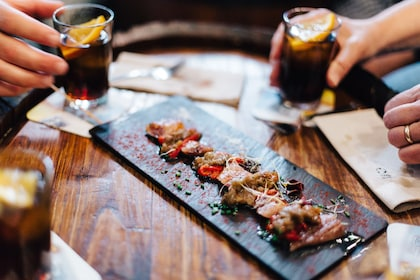 Tapas and drinks in Barcelona