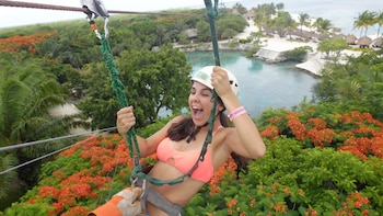 Xtrem Adventure Zipline at Chankanaab Park Cozumel
