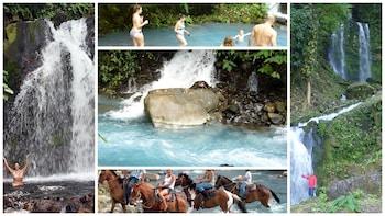 Private Blue River, Grand Waterfalls & Hot Springs Adventure