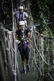 Zipline Canopy Tour in Port Vila