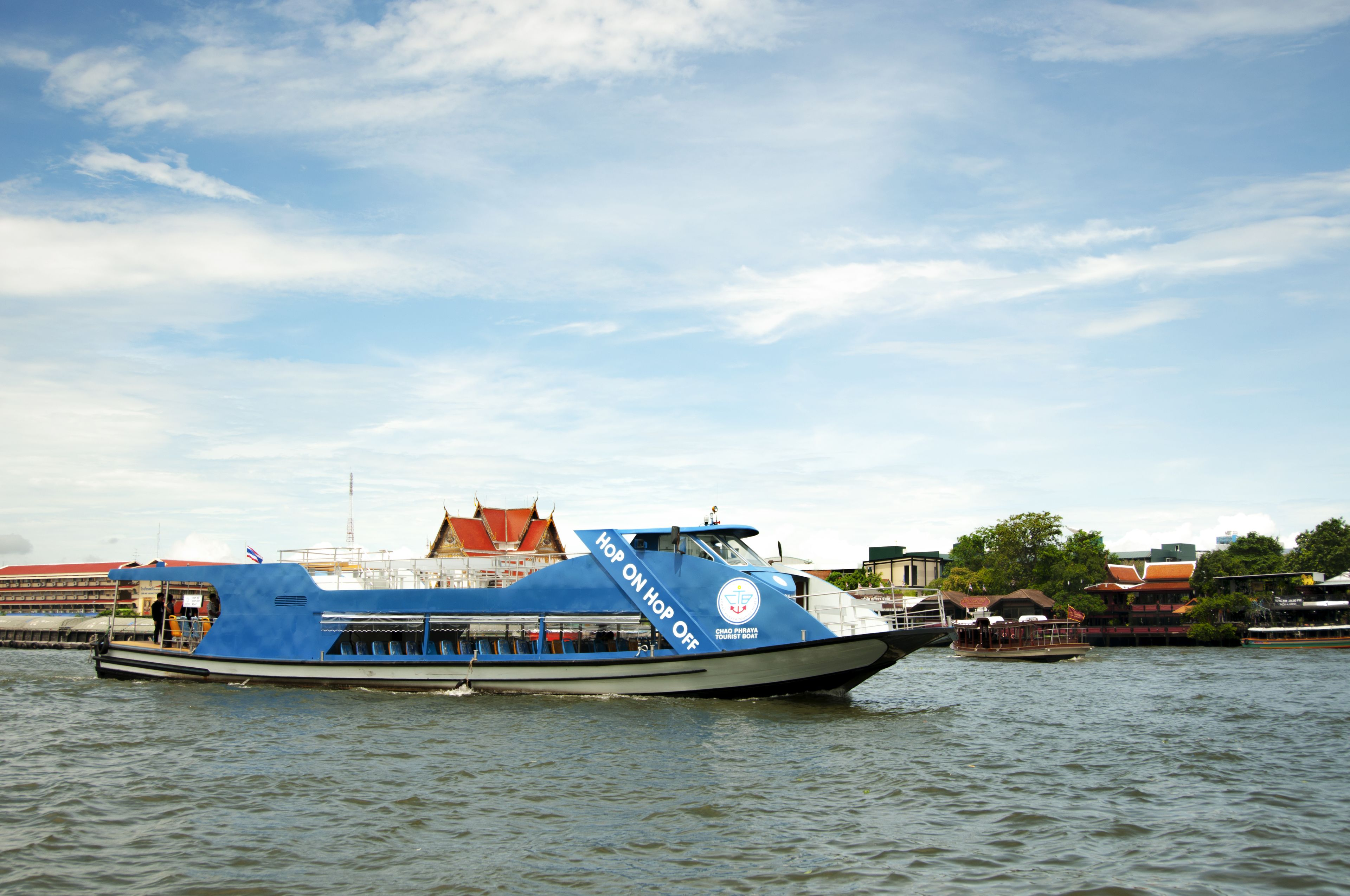 One-day Pass Unlimited Hop-on Hop-off in Chao Phraya Bangkok