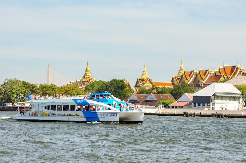 Show item 1 of 5.  CTB Unlimited Hop-on Hop-off Pass on Chao Phraya Bangkok
