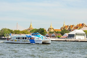 CTB Unlimited Hop-on Hop-off Pass on Chao Phraya Bangkok