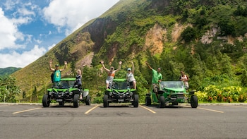 Soufriere SeaFari - Buggy & Catamaran Land & Sea Tour
