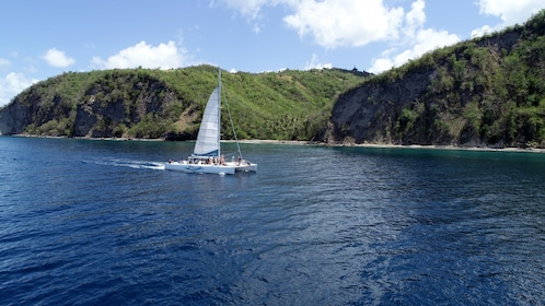 Sailboat in St Lucia
