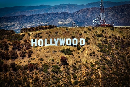 Famous Hollywood Sign in Los Angeles