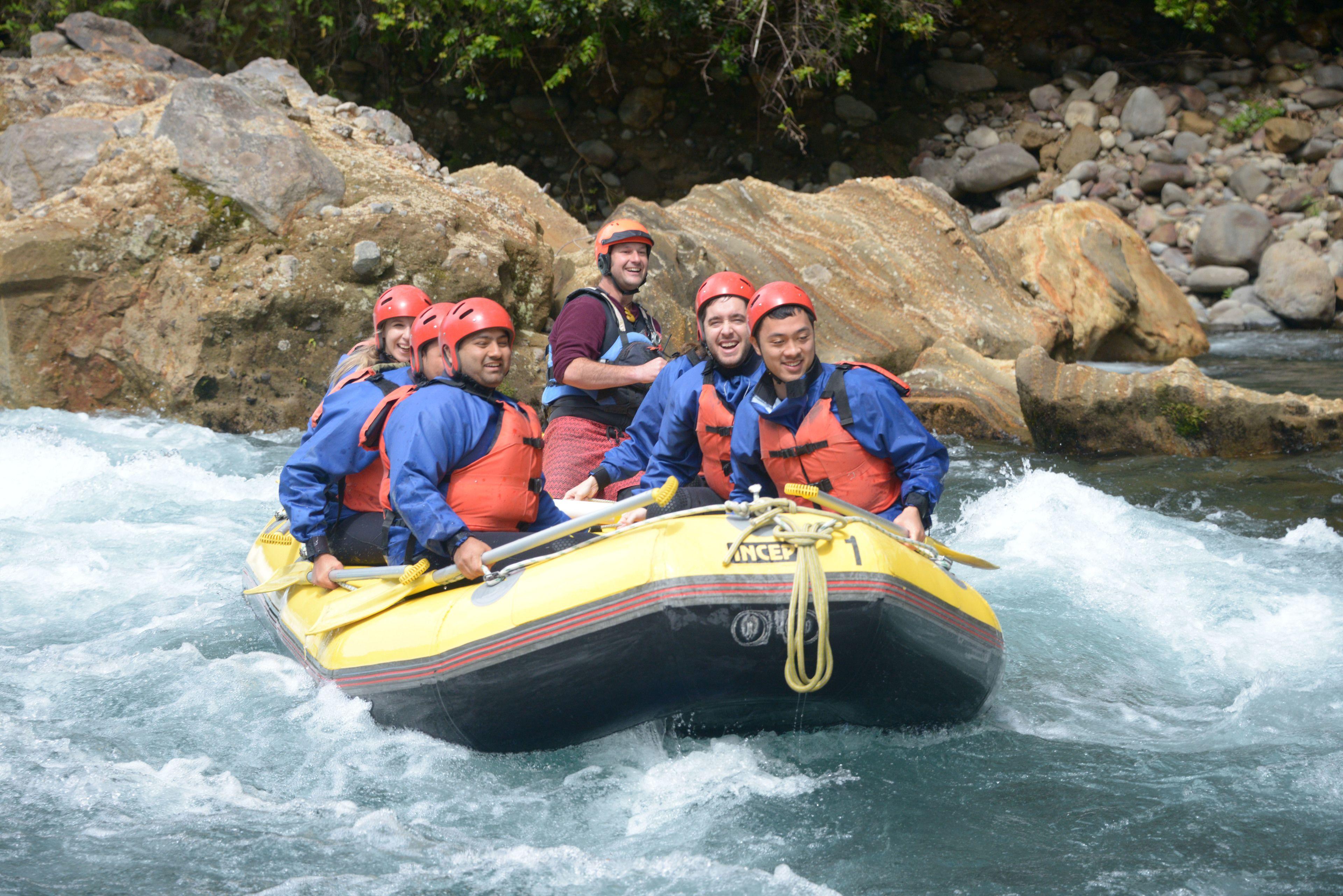 Tongariro River Grade 3 Whitewater Rafting