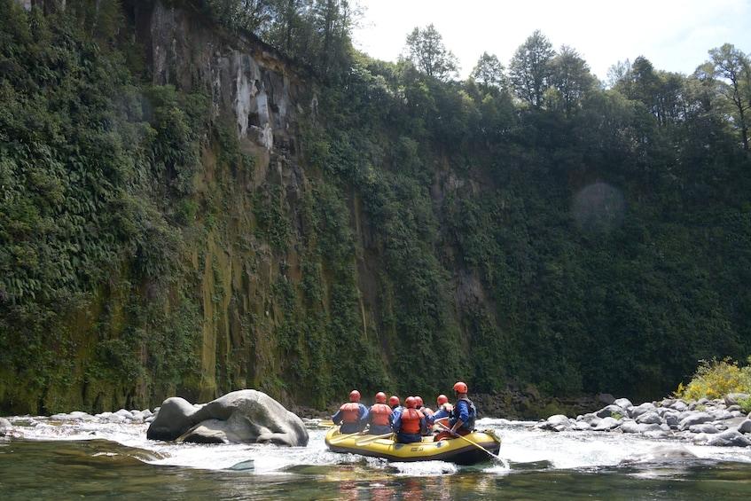 Show item 3 of 8. Tongariro River white water rafting
