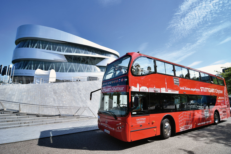 Stuttgart Citytour -Hop-on/ Hop-off open-top bus tour