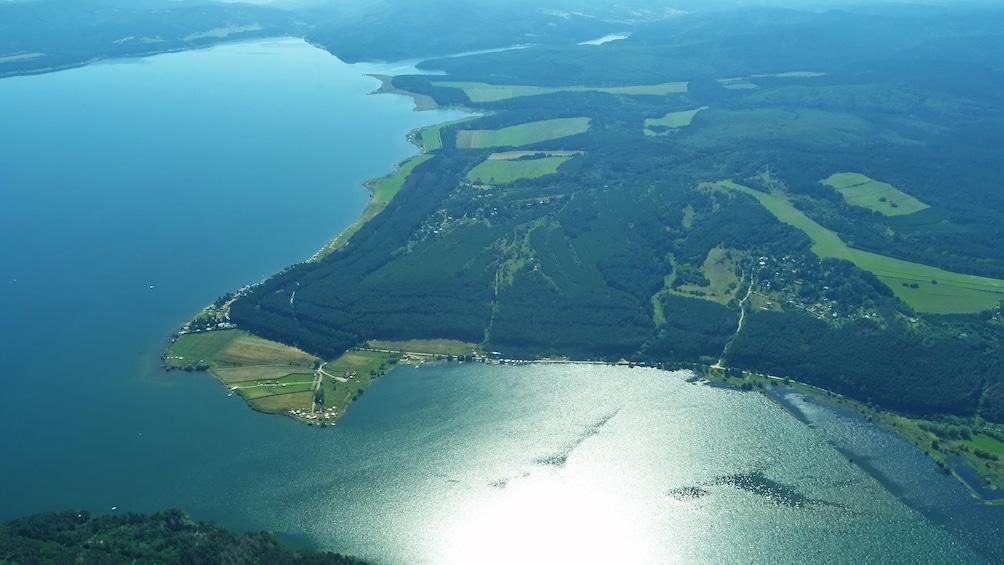 Show item 5 of 10. Scenic Flight over the biggest Dam in Bulgaria