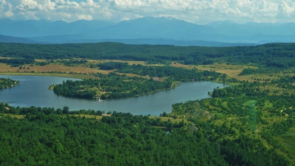 Show item 4 of 10. Scenic Flight over the biggest Dam in Bulgaria