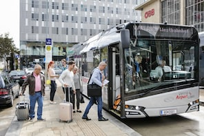 HOP ON HOP OFF + Walking Tour + Vienna Airport Bus