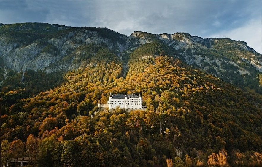 Show item 2 of 4. Aerial view of Tratzberg Castle
