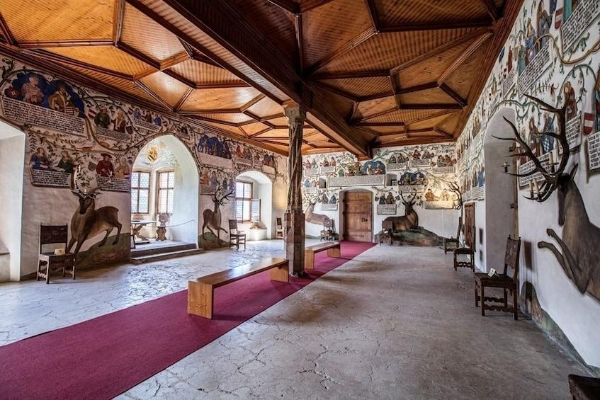 Show item 1 of 4. Interior of Tratzberg Castle