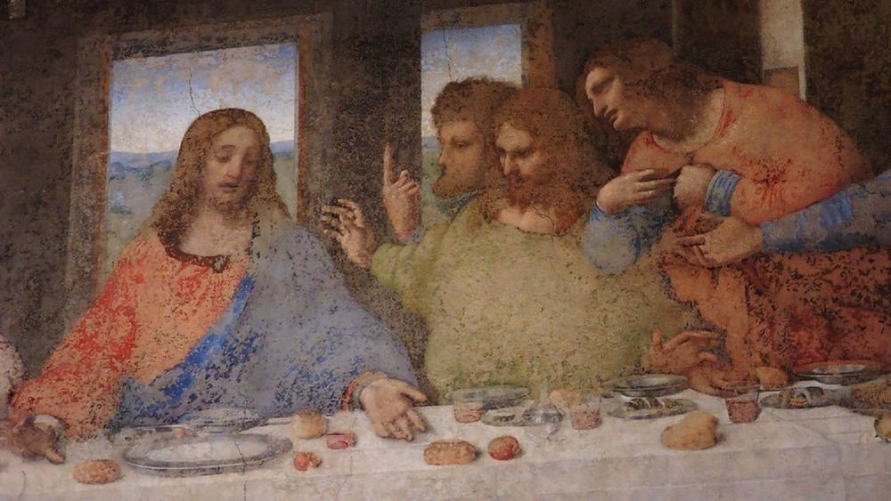 Detail of The Last Supper