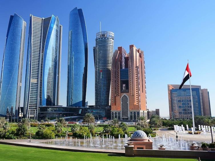 Show item 5 of 8. Etihad Towers in Abu Dhabi
