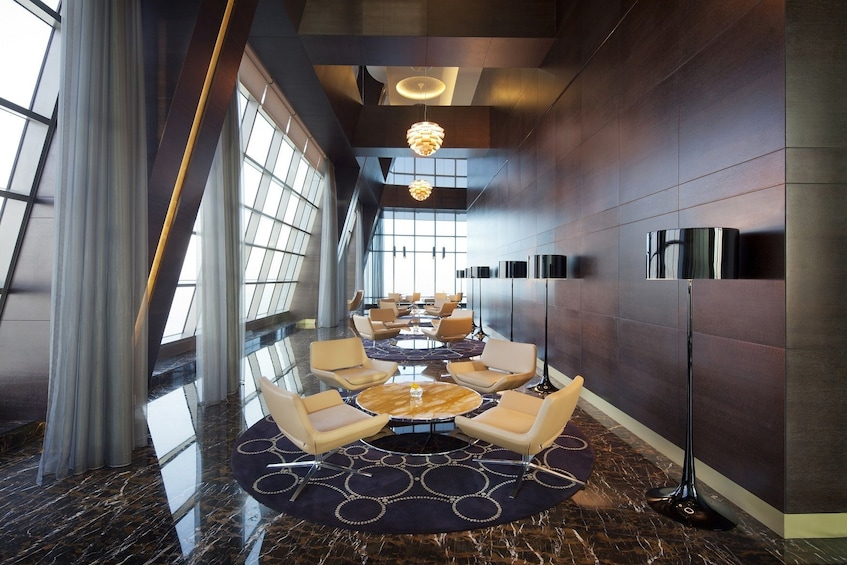 Show item 4 of 8. Seating area at Jumeirah in Abu Dhabi