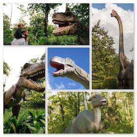 dinosaurs at Dino Park