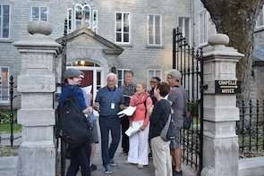 Quebec City Guided Tour: La Parlure in French!