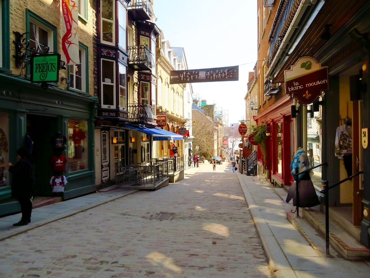 Show item 5 of 6. Quebec City Guided Tour: La Parlure in French!