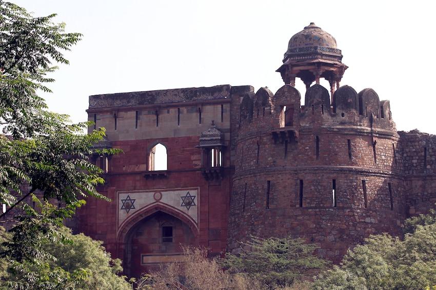 正在顯示第 5 張相片,共 6 張。 Old Fort in Delhi