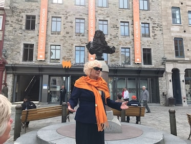 Tour guide in Quebec