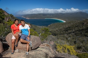1 Day Wineglass Bay Launceston to Hobart Active Day Tour