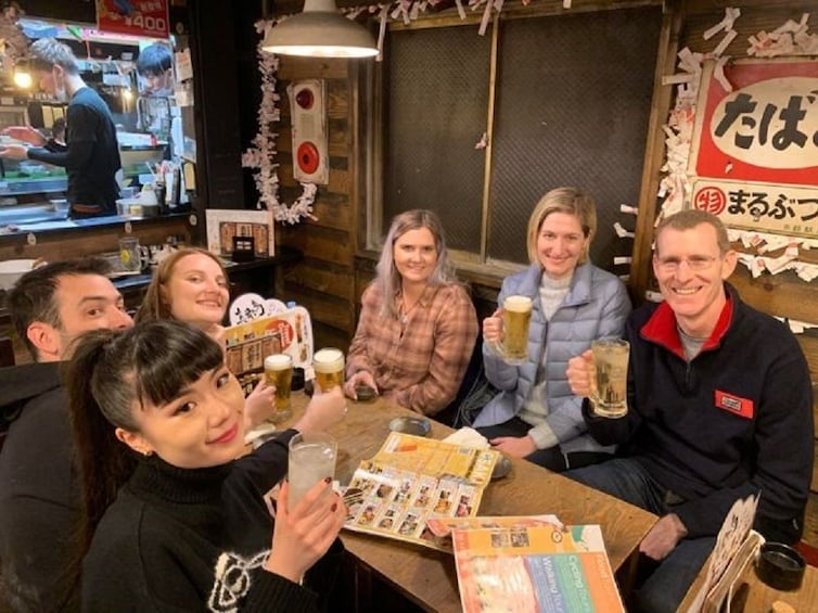 Show item 1 of 10. Osaka Bar Hopping Food Tour in Namba