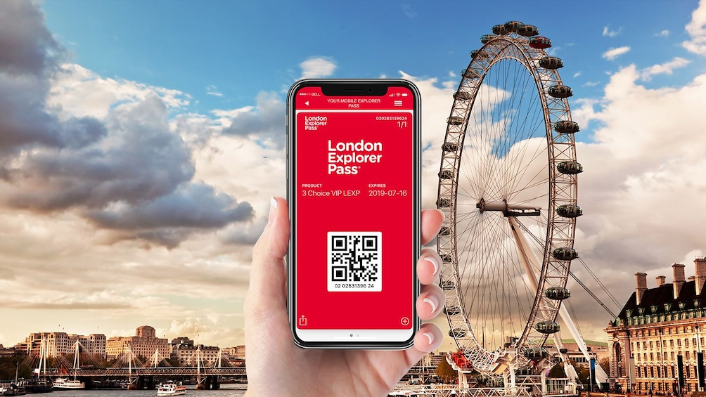 Show item 1 of 10. London Explorer Pass: Pick 3, 4, 5 or 7 Tours & Attractions