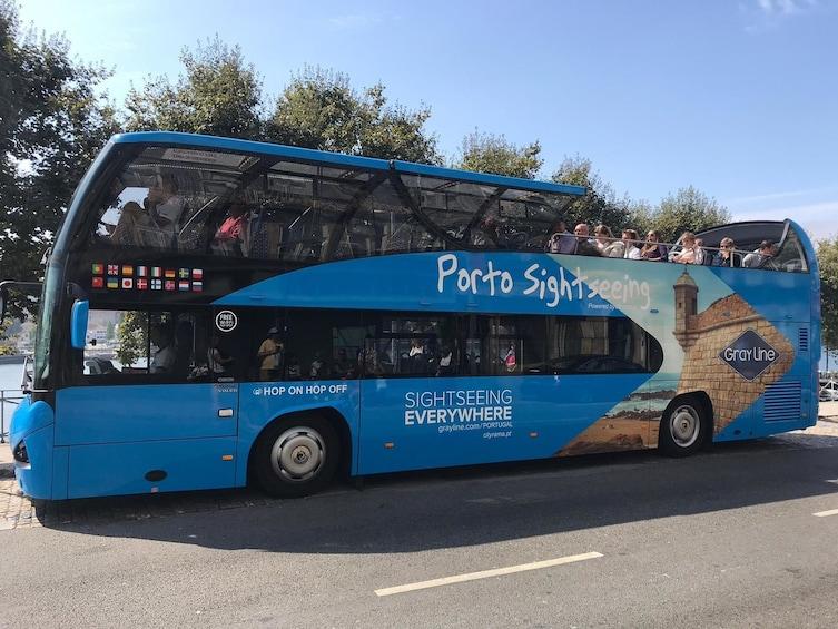 Åpne bilde 1 av 5. Porto Hop-On Hop-Off Tour - Blue Bus
