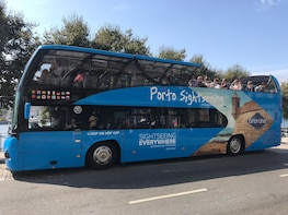 Hop-on-Hop-off-Bustour durch Porto – Blue Bus