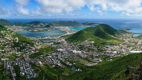 Panoramic view of St. Barthelemy